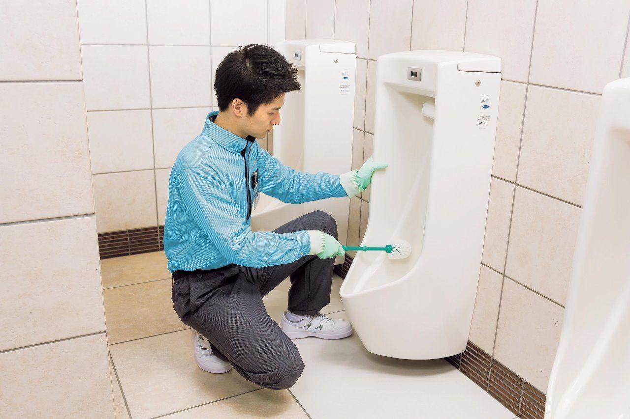 清潔・衛生の尺度となる場所だから