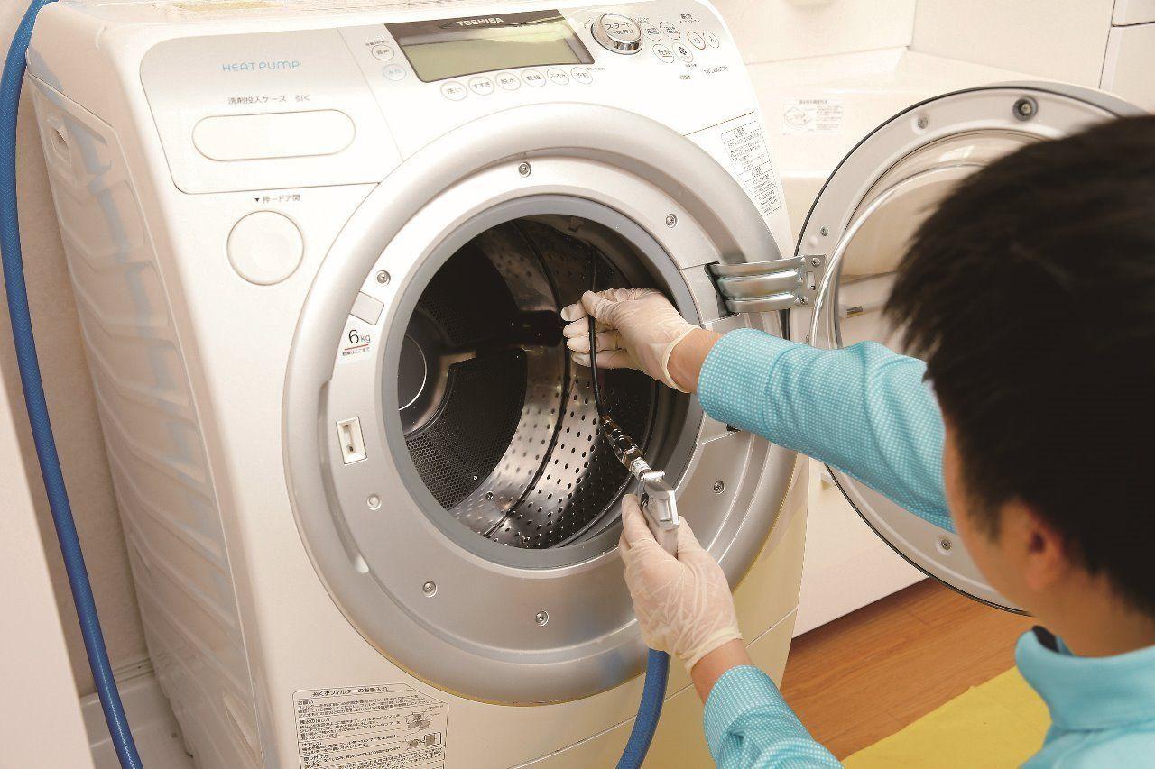 洗浄・除菌、ダブルの効果で清潔に洗濯機内部の汚れ、カビをすっきり除去