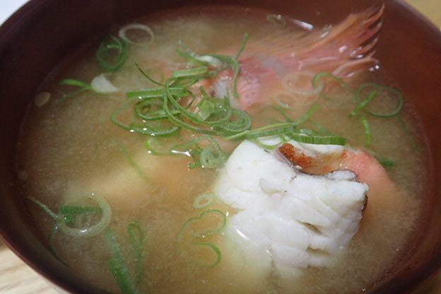 ガガラの味噌汁