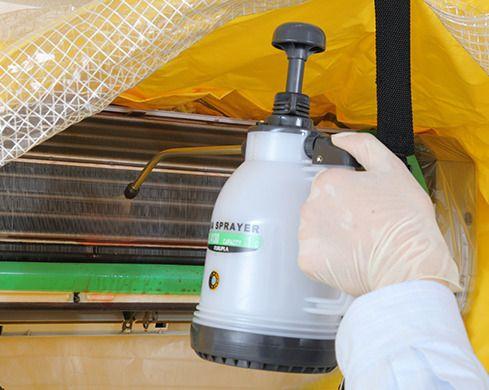 カビ ・細菌の繁殖を抑制、衛生的な空気環境を維持します